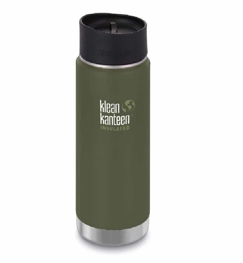 592ml20oz Kanteen® Wide Vacuum Insulated (mit Edelstahl Loop Cap)